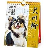 2021年 チワワ川柳(週めくり)カレンダー 1000115866 vol.008