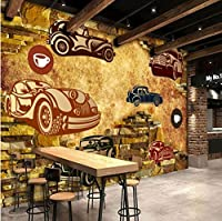Mbwlkj 寝室の壁のためのレトロな注文の壁紙のヨーロッパのレストランの背景Ktv棒壁画紙-450cmx300cm
