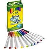 CRAYOLA 58-8610 10 SuperTips Markers