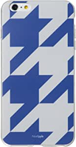 &y アンディ Nordipple iPhone6sPlus iPhone6Plus 対応 5.5インチ ソフトTPUケース マットタイプ オオチドリ 青×グレー (NP206)
