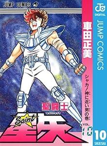 聖闘士星矢 10巻 表紙画像
