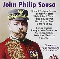 John Philip Sousa: Stars And Stripes Forever/Semper Fidelis/... by Cincinnati Pops Orchestra (2011-01-25)
