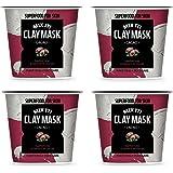 [FARMSKIN] ファームスキン スーパーフード ミックスクレイ クレイパック クレイマスク モデリングパック マスクパック 保湿マスク 水分マスク 栄養たっぷり セルフケア カカオ Clay Mask Kakao (4個セット)