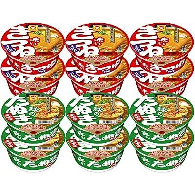 マルちゃん 詰め合わせお楽しみBOX(赤いきつね&緑のたぬきセット) 1182g