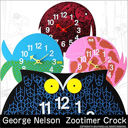 RoomClip商品情報 - 「ジョージ・ネルソン」動物クロック Zootimer Crock(ズータイマークロック) GN0911 (バード-03)