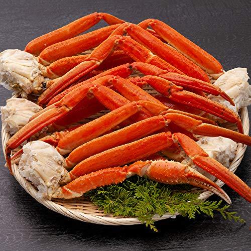 ズワイガニ 足 極太3Lサイズ 訳あり 2kg ずわい蟹 脚 食べ放題 ボイル
