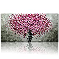 desihum-3dオイル絵画キャンバス 20*40 inch(50*100cm) ピンク DS003-50100