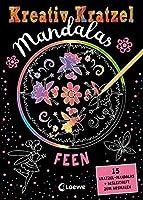 Kreativ-Kratzel Mandalas: Feen