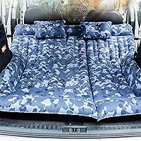 SUVインフレータブルマットレス、GZD車旅行エアベッド後部シートクッションインフレータブルベッドキャンプユニバーサル、独立したエアキャビン、迷彩カラー、132 * 164センチメートル