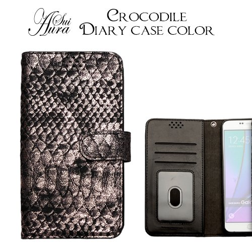 【 iPhone6 CROCODILE DIARY CASE...