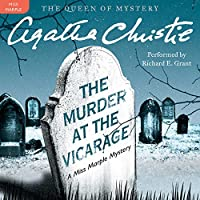 The Murder at the Vicarage: Library Edition (Miss Marple)