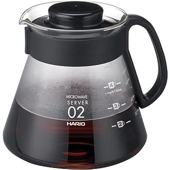 HARIO (ハリオ) V60 レンジサーバー コーヒードリップ 600ml 耐熱ガラス   XVD-60B