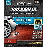 ラストオレウムRocksolidシルバーBulletメタリックガレージ床キット 1 Pack RM 286896 01