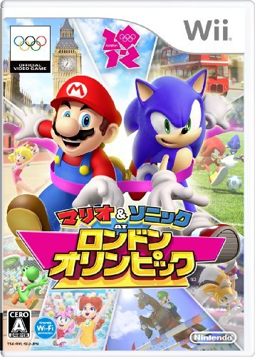 Mario & Sonic at the London 2012 Olympic Games [Japan Import] by Sega [並行輸入品]