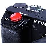 VKO ソフトシャッターボタン 粘着ボタン 非ねじ式リリースボタン Sonyなど用 ZV-1 ZV1 RX100M7 RX100M6 RX100M5 RX100M4 RX100M3 A6000 A6100 A6300 A6400 A7R A7S A7
