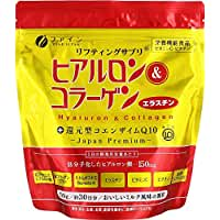ファイン ヒアルロン&コラーゲン+還元型COQ10袋 ミルク風味 210g 約30日分
