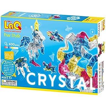 ラキュー (LaQ) フリースタイル(FreeStyle) クリスタル 400ピース