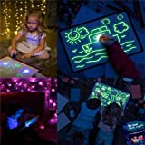 Doodle Board Drawing Tablet Kid Light Drawing Pad Luminescent Board Glow in Dark Painting Developing Educational Toys Gifts f