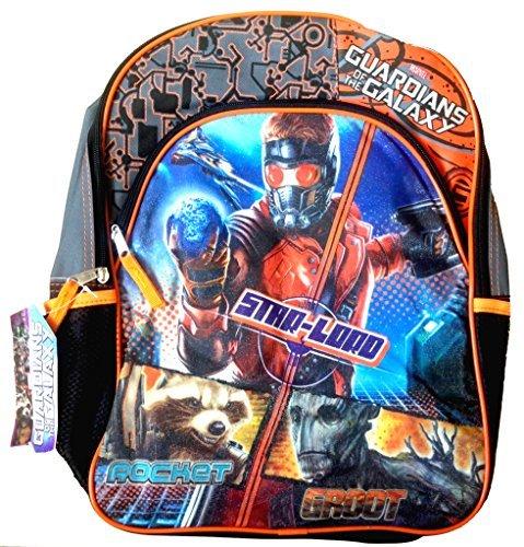 おもちゃ Guardians of the Galaxy ガーディアンズオブギャラクシー Back to School Children's Backpack with Matching Strap Lunch Box (PURPLE LUNCH BOX) [並行輸入品]