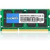 テクミヨ ノートPC用メモリ 1.35V (低電圧) DDR3L 1600 PC3L-12800 8GB×1枚 204Pin Mac 対応 永久保証