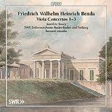Benda: Viola Concertos Nos 1