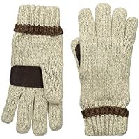 Manzella Men's Ragwool Gloves One Size Natural [並行輸入品]
