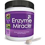 Enzymes for Cats and Dogs : Enzyme Miracle (100 servings) : For Digestive Stress, Pancreatic Concerns, and Healthy Weight Man