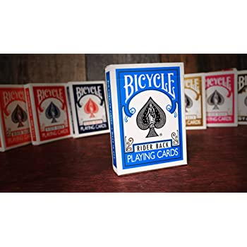 Poker Size Funsport Bicycle Turquoise Back Playing Cards