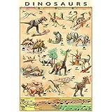 Euro Graphics Dinosaurs 恐竜 ポスター (英国公式輸入品)