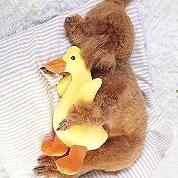 07efdc17eb400 HaveGet 犬おもちゃ 音 かも ぬいぐるみ 小型犬 あひる ストレス解消 運動不足 ペットおもちゃ 猫おもちゃ 噛むおもちゃ ダック