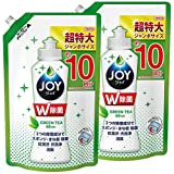 【まとめ買い】 除菌ジョイ コンパクト 食器用洗剤 緑茶の香り 詰め替え ジャンボ 1330mL × 2個