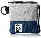 [チャムス] 財布 Square Coin Case・Sweat Nylon CH60-0693-G019-00 G019 ヘザーグレーベーシックネイビー