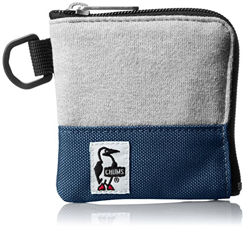 [チャムス] コインケース Square Coin Case Sweat Nylon CH60-0693-A046-00 G019 H-Gray/Basic Navy