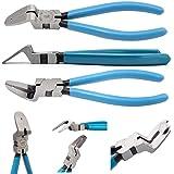 IOppWin Mutipurpose Cutting Pliers,Diagonal Stainless Steel Car Trim Puller Plier,Car Panel Puller Clip Pry Plastic Rivets Fa