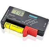 ASDSH デジタルバッテリー テスター 電池チェッカー 電池の残量チェック 乾電池残量測定器