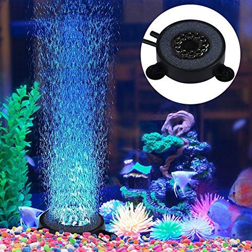 [해외]수족관 공기 돌 수족관 기포 스톤 원형 버블 메이트 수조 장식 수족관 용 에어 스톤 미세한 기포가내는 에어 스톤 산소 공급되는 LED 수족관 라이트/Aquarium air stone water bath bubble stone round shaped bubble mate aquarium decoration aqua...