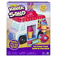 Kinetic Sand Ice Cream Truck [並行輸入品]