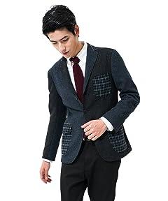 Crazy Tweed 3-button Jacket 3122-186-0472: 2