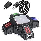 コンバーター xbox/Switch/PS4/PS3対応 キーボード マウス KXコンバーターセット OTGアダプター付き