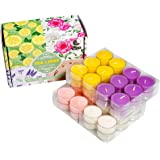Scented Tea Lights Candles Bulk for Home,48Pack Aromatherapy Candle Soy Wax for Candle Holder and Gifts Sets for Women|Small