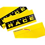 Amazing Race Party Tear-Strip Yellow Envelopes - Set of 10
