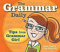 The Grammar Daily 2018 Calendar: Tips from Grammar Girl