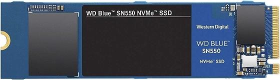 Western Digital SSD 500GB WD Blue SN550 PC M.2-2280 NVMe WDS500G2B0C-EC 【国内正規代理店品】