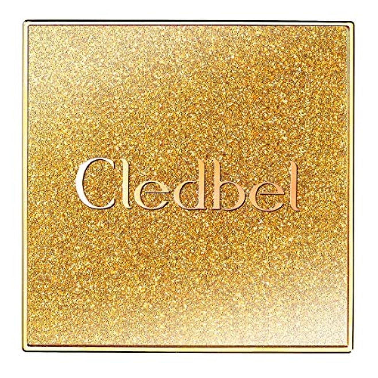 暴行一時停止襲撃[Cledbel] Miracle Power Lift V Cushion SPF50+ PA+++ GOLD EDITION/クレッドベルミラクルリフトV クッション [並行輸入品]
