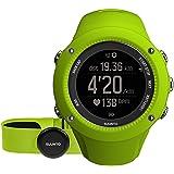 スント(SUUNTO) 腕時計 アンビット3 ラン HR ライム 5気圧防水 GPS 速度/距離/高度計測 [日本正規品 メーカー保証2年] SS021261000