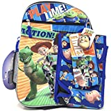 "7 Items Deluxe Toy Story 4 16"" Full Size Backpack (Included Gift Woven Bag)"