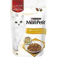 モンプチ バッグ 成猫用 5種のこだわりブレンド ターキー・チキン・お米・かつお・小魚味 600g [キャットフード・ド…