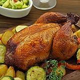 ローストチキン 丸鶏 ローストで美味しい 熟成丸鶏 スパイシー味 1羽 冷凍