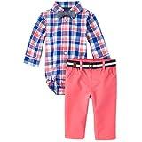 The Children's Place Baby-Boys Long Sleeve Button Down Pant Set Pants Set