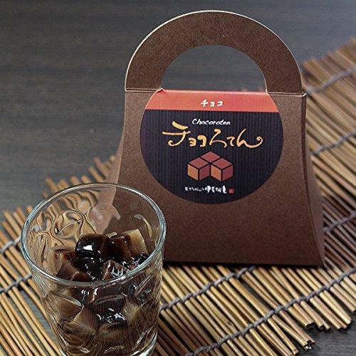 伊豆河童 チョコろてん 12個セット (ダブルチョコソース味) お歳暮 ギフト向け